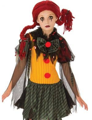 Undead Clown Doll Girls Halloween Costume