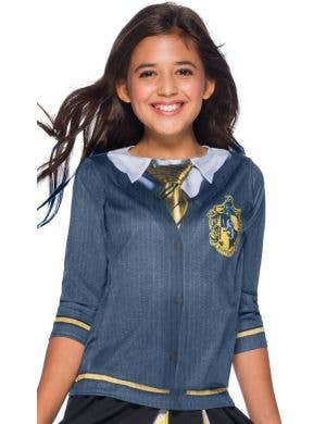 Harry Potter Hufflepuff Girls Costume Top