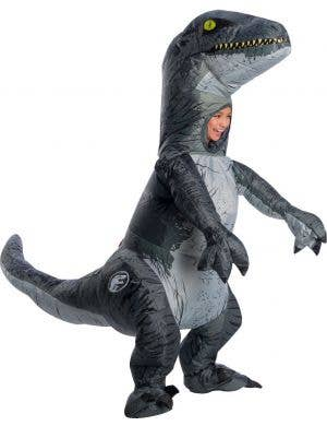 Jurassic World Inflatable Blue Kids Costume with Sounds