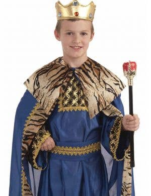 King of the Kingdom Boys Medieval Costume