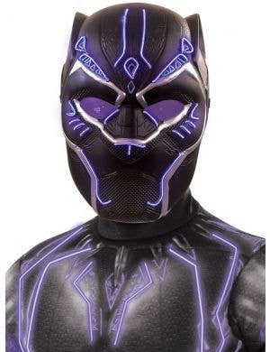 Black Panther Boy's Super Deluxe Light Up Battle Costume