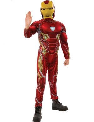 Iron Man Muscle Chest Boys Avengers Infinity War Costume