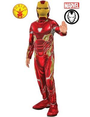 Iron Man Boys Mark 50 Avengers Movie Costume