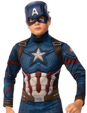 Avengers Endgame Captain America Boys Book Week Costume