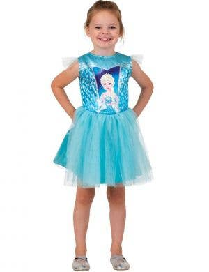 Elsa Frozen Toddler Girls Dress Up Costume