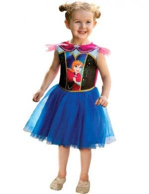 Anna Frozen Toddler Girls Dress Up Costume