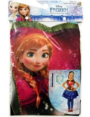 Disney Frozen Anna Girls Costume Top