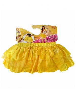 Disney Princess Belle Girls Yellow Tutu Skirt