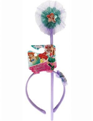 Mermaid Ariel Headband and Wand Costume Accessory Kit