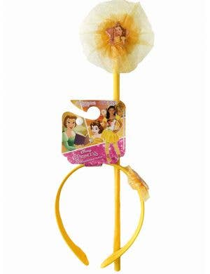 Princess Belle Headband and Wand Costume Accessory Kit