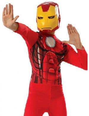 Classic Iron Man Boys Avengers Dress Up Costume