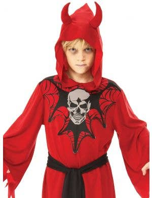 Skeleton Devil Boys Halloween Costume