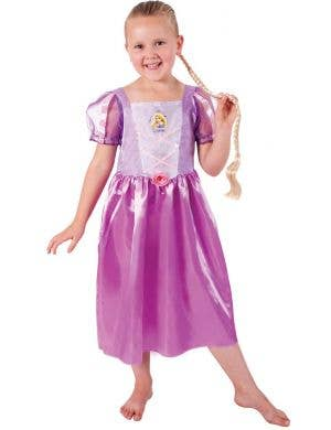 Rapunzel Girl's Deluxe Tangled Disney Princess Costume