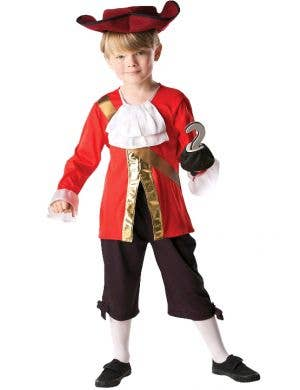 Captain Hook Boys Jake and the Never Land Pirates Costume