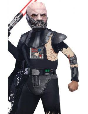Star Wars Boys Battle Damaged Darth Vader Costume