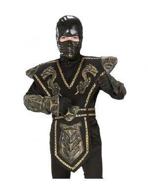 Gold Dragon Boys Ninja Costume