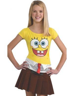 Spongecutie Teen Girls Spongebob Costume