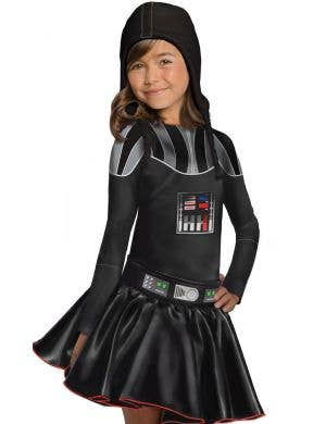 Darth Vader Girl's Star Wars Fancy Dress Costume