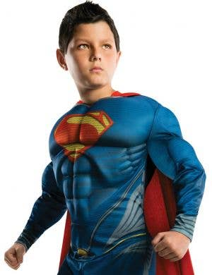 Man Of Steel Boys Superman Dress Up Costume
