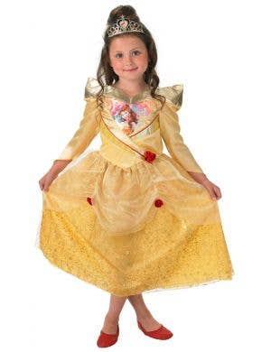 Princess Belle Deluxe Shimmer Beauty and the Beast Girls Costume