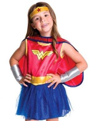 Wonder Woman Girls Toddler Tutu Superhero Costume