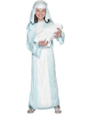 Biblical Mary Girls Fancy Dress Costume