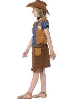 Western Belle Kids Cowgirl Costume