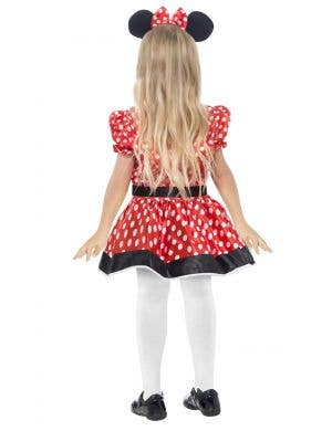 Cute Minnie Mouse Girls Fancy Dress Costume