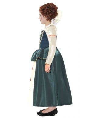 Queen Elizabeth 1 Girl's Tudor Fancy Dress Costume