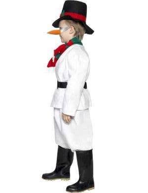 Snowman Boys Christmas Fancy Dress Costume