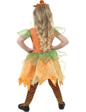 Pumpkin Fairy Toddler Girls Costume