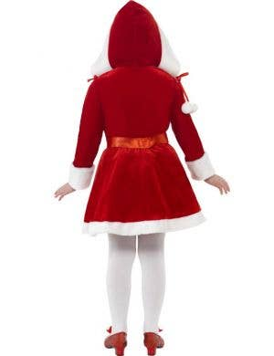 Miss Santa Girls Christmas Dress Up Costume