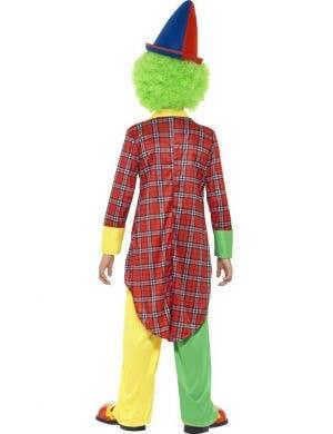 Circus Clown Boys Fancy Dress Costume