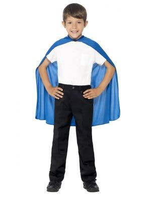 Superhero Kids Blue Costume Accessory Cape