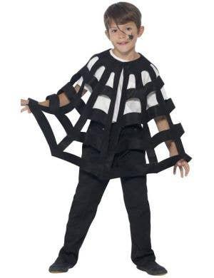 Spider Web Kids Cape Costume Accessory