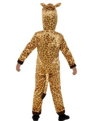 Giraffe Kids Unisex Animal Onesie Costume