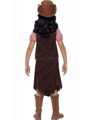 Cowgirl Wild West Girls Costume