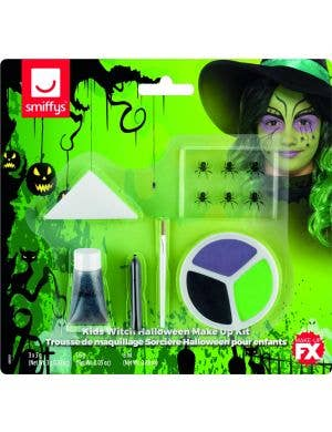 Wicked Witch Girls Halloween Makeup Kit