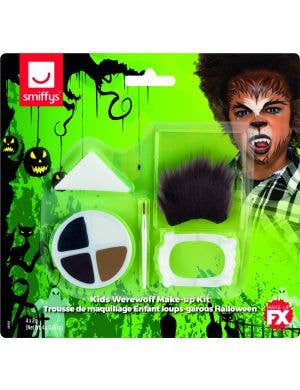 Wicked Werewolf Kids Halloween Makeup Kit