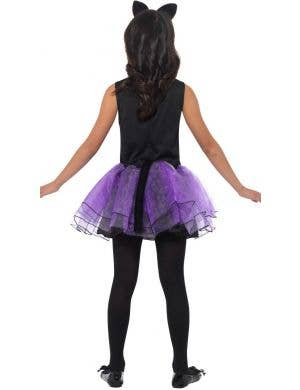 Cute Purple Cat Girls Halloween Costume
