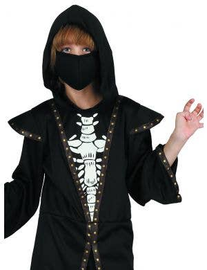 Skeleton Demon Halloween Boys Fancy Dress Costume