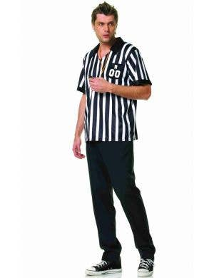 Sports Referee Men's Fancy Dress Costume