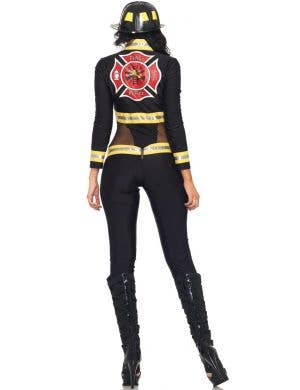 Red Blaze Firefighter Sexy Women's Costume
