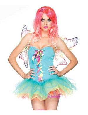 Rainbow Fairy Sexy Women's Costume