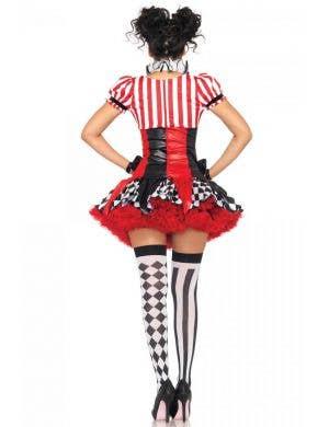 Harlequin Clown Women's Sexy Costume