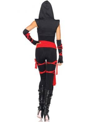 Deadly Ninja Catsuit Sexy Women's Costume