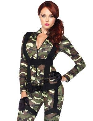 Pretty Paratrooper Sexy Women's Costume