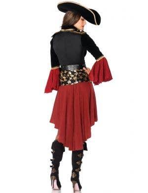 Cruel Seas Women's Pirate Captain Costume