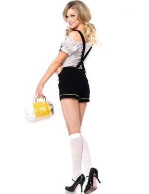 Edelweiss Lederhosen Women's Sexy German Oktoberfest Costume