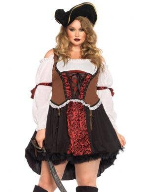 Ruthless Pirate Wench Women's Costume - Plus Size